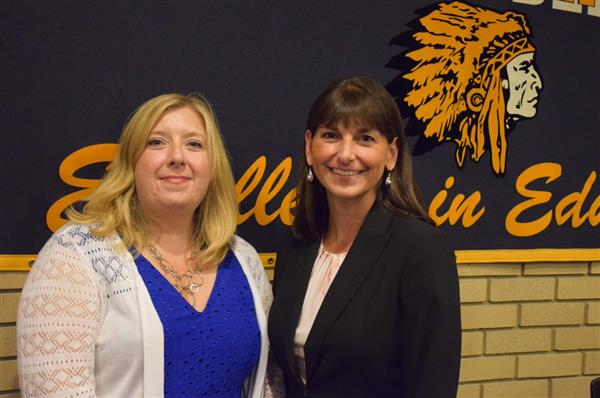 Welcome two new Board of Education trustees Kerry Wachter and Jeanine Caramore!