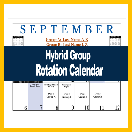 Hybrid Group Rotation Calendar (Sep-Dec)