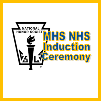 MHS NHS Induction Ceremony