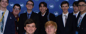 MHS Virtual Enterprise Class Attends Trade Show at LIU