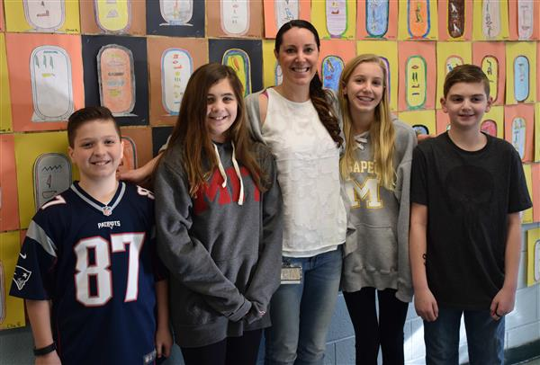 Berner Teacher Earns Statewide Honor