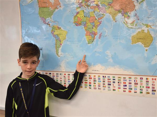 Berner Geography Bee Winner Advances To States