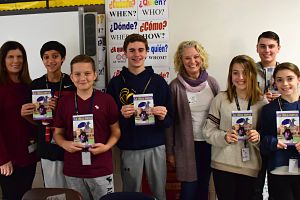 Author Engages Berner's Spanish Language Learners