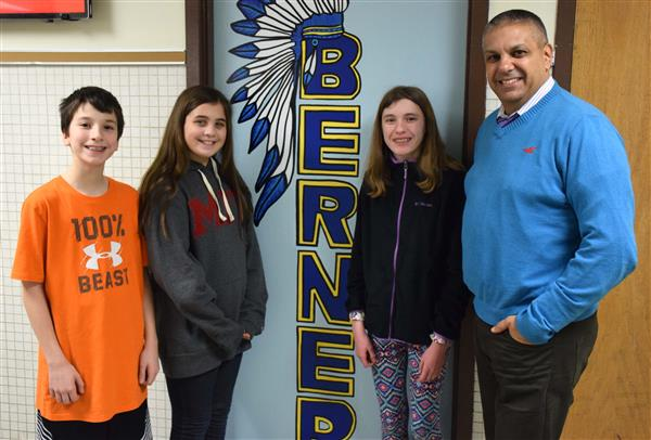 Berner, Ames Students are Reflections Finalists