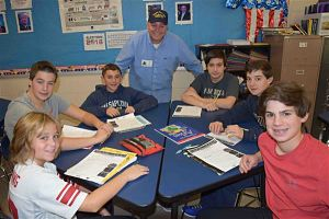 Berner Students Connect With Veterans