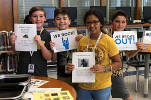 Berner Chiefs Library Media Center Officially Opens
