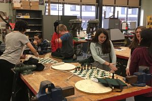 Berner Students Enjoy The Challenge Of Chess