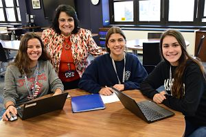 District Unveils Berner, High School Library Upgrades