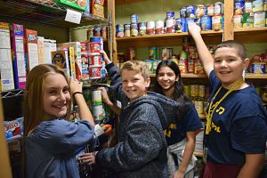 Berner Students Make Sure no one Goes Hungry