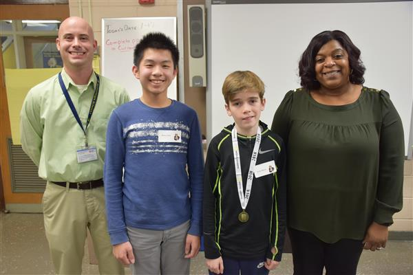 Berner Students Compete in Geography Bee