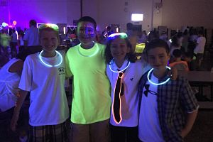 BMS Seventh Grade Welcome Back Glow Dance