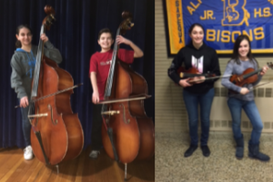 Four Orchestra Students Represent Berner Middle School At LISFA