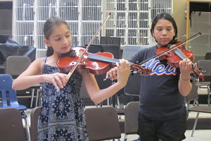 Berner Students Sign Up For Chamber Orchestra