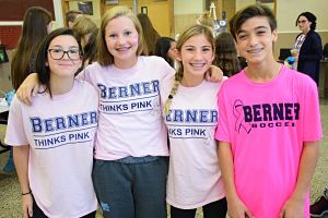 Berner Goes Pink for a Cause