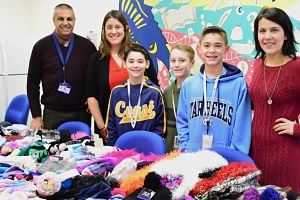 Sixth-Graders Ensure A Warm Winter For All