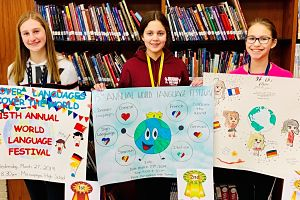 Berner Students Win Language Poster Contest