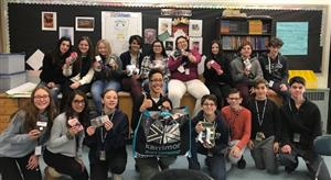 Socks for Youth in Need Massapequa Students Donate to Emergency Youth Shelter