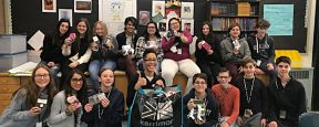 Ames - Socks for Youth in Need Massapequa Students Donate to Emergency Youth Shelter