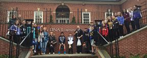 Eighth Grade Students Visit The Cold Spring Harbor DNA Learning Center