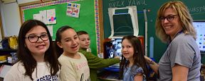 Birch Lane Students Take Printing to the Next Level