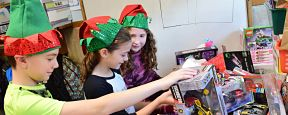 Birch Lane Students Get in the Giving Spirit