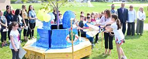 Koda Bench Cultivates Kindness at Birch Lane