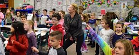 Birch Lane Students Move to End World Hunger