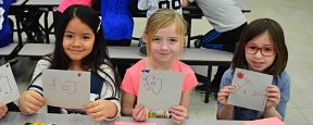 Berner, Birch Students Celebrate Chinese New Year