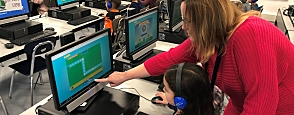 East Lake Takes On The Hour of Code