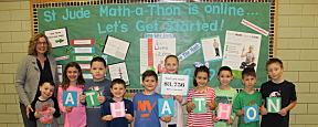 East Lake School Raises Money for St. Jude Math-A-Thon
