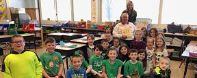 LHE Second Graders Learn About Agricultural Week