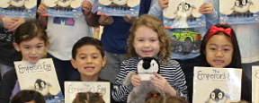 LHE First-Graders Learn About Penguins