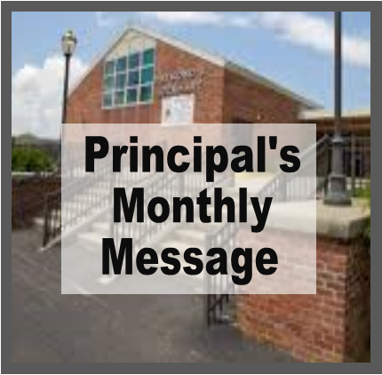 Principal's Monthly Message