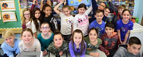 Unqua Third-Graders are All Over the Map