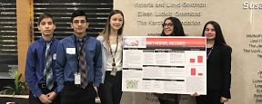 Massapequa Student Team Achieves at Medical Marvels