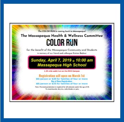 2019 COLOR RUN REGISTRATION
