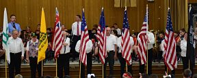 Putting the Flag in Focus at Birch Lane