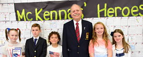 McKenna Students Honor Military Heroes