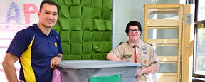 Eagle Scout to 'Bee' Supports Massapequa Health Course