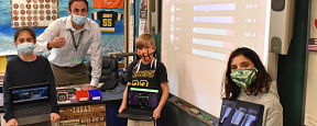 Fairfield Fifth Graders Test Their Knowledge Digitally