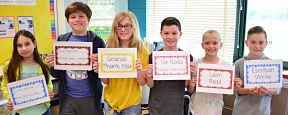 Fifth Graders Give FLES Program High Marks