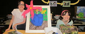 Art Inspires Art for Elementary Students