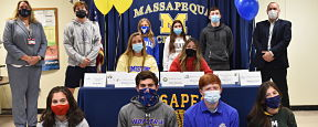 Massapequa Athletes Commit to College Teams