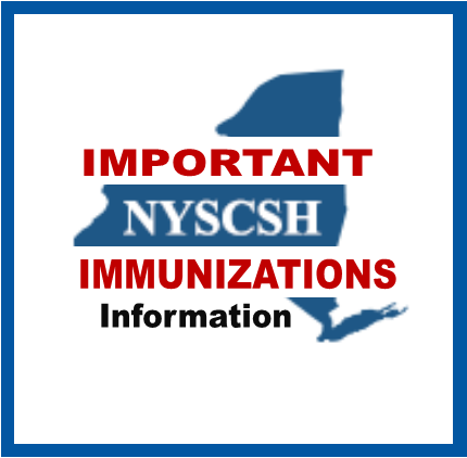 Important SED Info Regarding Immunizations