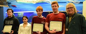 Marine Science Students Place in Scallop Bowl