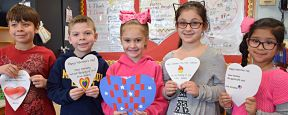 East Lake Students Send Their Love to Veterans