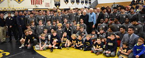 Massapequa Wrestlers Pledge to Stay Drug Free